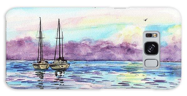 Galaxy Case featuring the painting Florida Keys Islamorada Shore by Irina Sztukowski