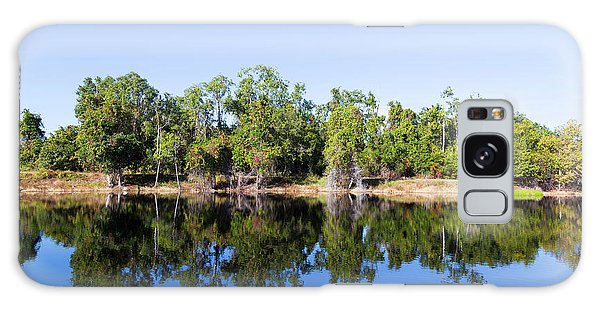 Florida Lake And Trees Galaxy Case