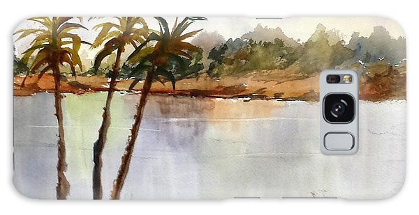 Florida Landscape Galaxy Case by Larry Hamilton