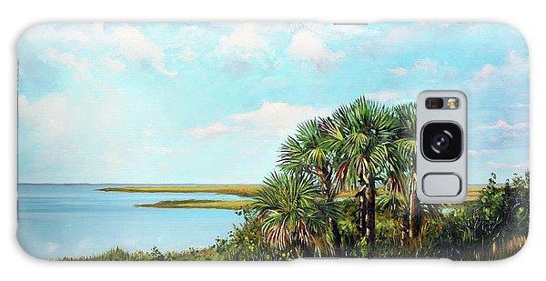 Florida Palms Galaxy Case