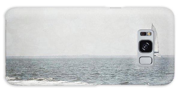 Florida Rustic Sailboat Ocean Landscape Galaxy Case by Andrea Hazel Ihlefeld
