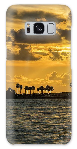 Powerboat Galaxy Case - Florida Sunset-1 by Marvin Spates