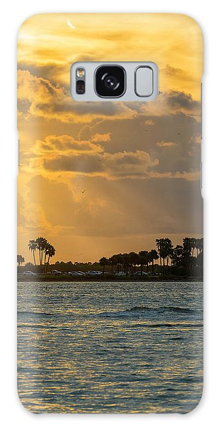 Powerboat Galaxy Case - Florida Sunset-3 by Marvin Spates