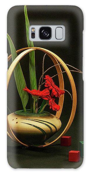 Flow Ikebana Galaxy Case by Carolyn Dalessandro