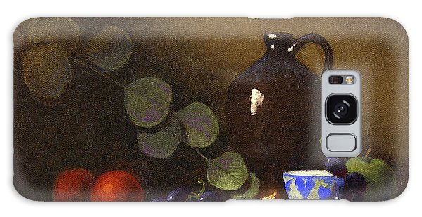 Grape Galaxy Case - Flow Of Light And Color 12 X 16 by Cody DeLong