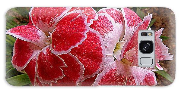 Flower-a-day Galaxy Case by Anne Gordon