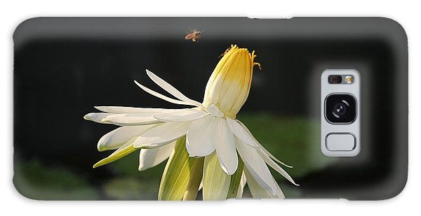 Flower And Bee In Singapore Galaxy Case