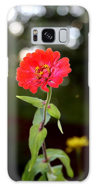 Galaxy Case featuring the photograph Flower And Hope by Vadim Levin