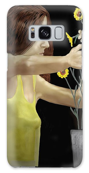 Flower Arranger Galaxy Case