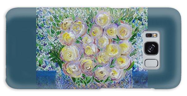 Flower Basket Galaxy Case