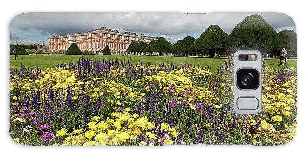 Flower Bed Hampton Court Palace Galaxy Case