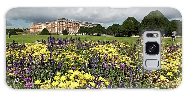 Flower Bed Hampton Court Palace Galaxy Case