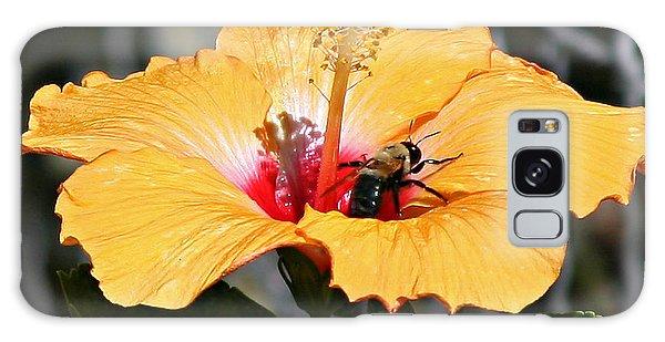 Flower Bee Galaxy Case