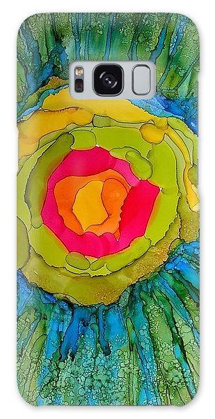 Flower Burst Galaxy Case