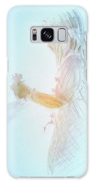 Flower Child Galaxy Case by Gertrude Palmer