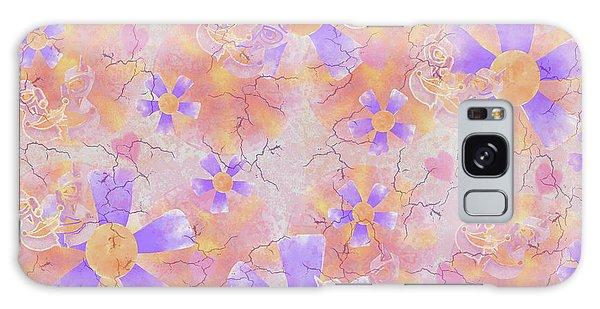 Flower Clown Pattern Galaxy Case