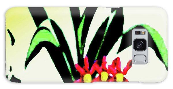 Flower Design #2 Galaxy Case