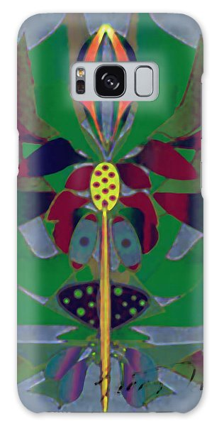 Flower Design Galaxy Case