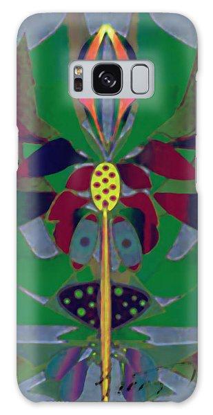 Flower Design Galaxy Case