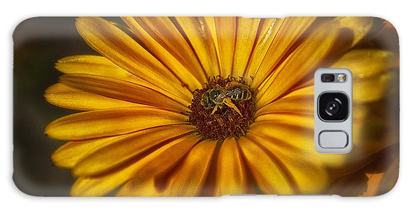 The Flower Inspector Galaxy Case
