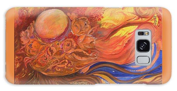 Flower Dream Galaxy Case by Rita Fetisov