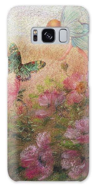 Flower Fairy Butterfly Roses Galaxy Case