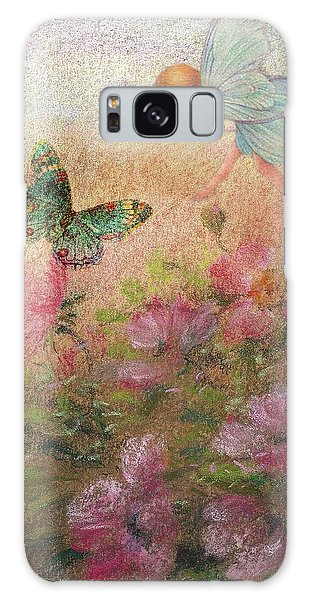 Flower Fairy Butterfly Roses Galaxy Case