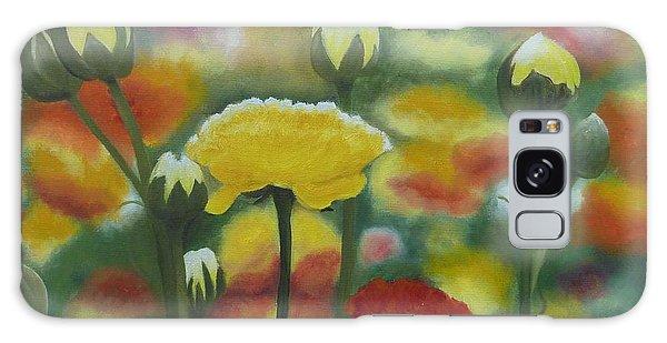 Flower Focus Galaxy Case