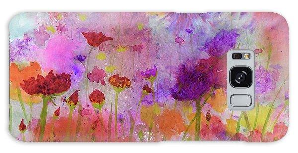 Flower Frenzy  Galaxy Case
