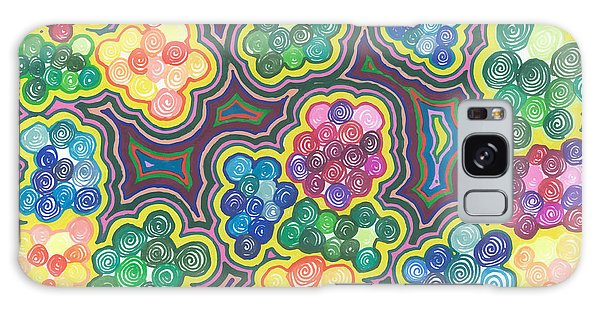 Flower Frenzy Galaxy Case