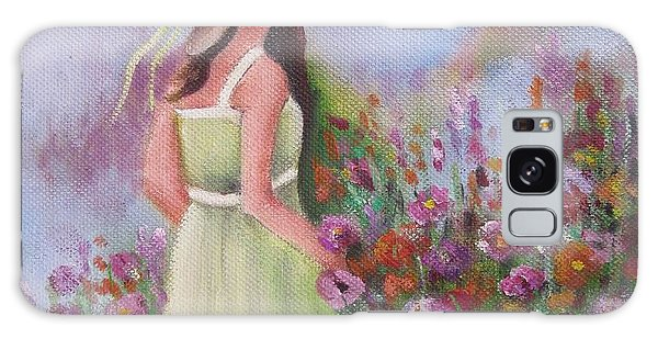 Flower Garden Galaxy Case
