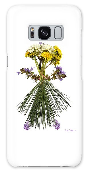 Flower Head Galaxy Case