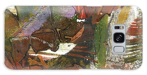 Flower In The Tropics Galaxy Case by Angela L Walker