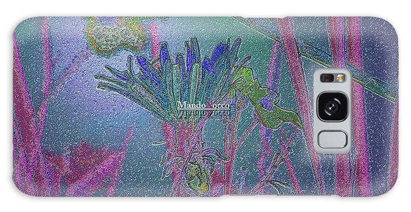 Flower Meadow Galaxy Case