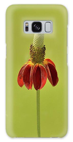 Flower  Galaxy Case by Nancy Landry