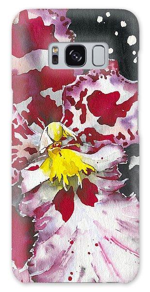 Flower Orchid 11 Elena Yakubovich Galaxy Case