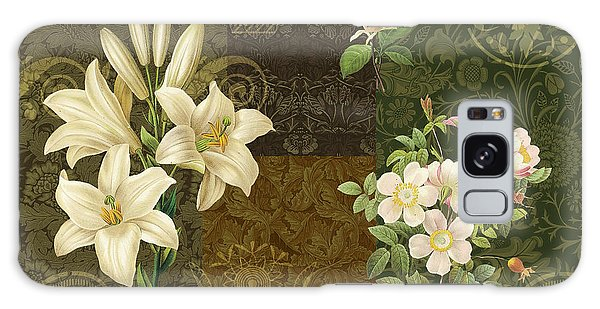 Tapestry Galaxy Case - Flower Patchwork 2 by JQ Licensing