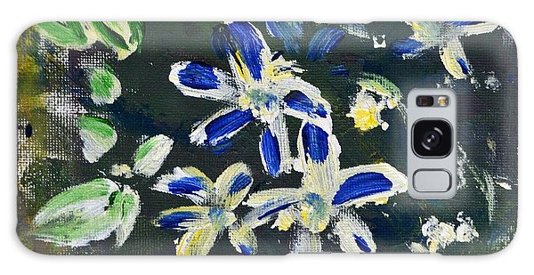 Flower Play Galaxy Case