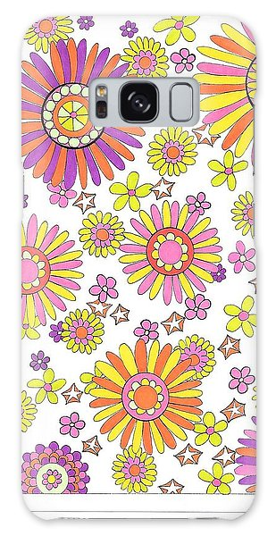 Flower Power 1 Galaxy Case