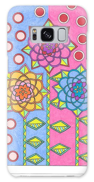 Flower Power 2 Galaxy Case