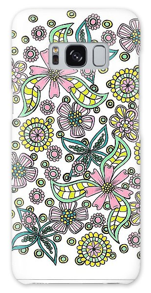 Flower Power 5 Galaxy Case