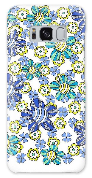 Flower Power 7 Galaxy Case