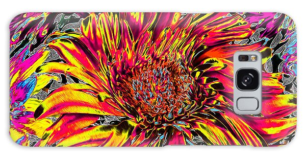 Flower Power II Galaxy Case