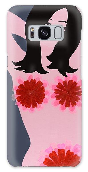 Flower Power - Pink Galaxy Case