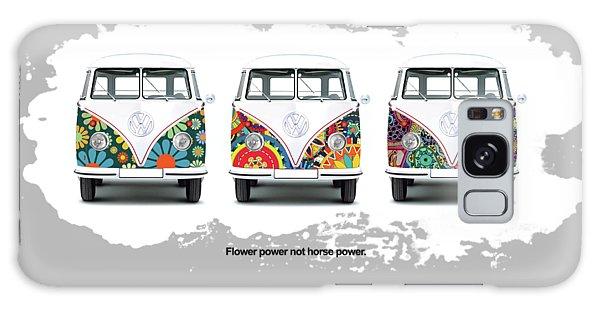 Volkswagen Galaxy Case - Flower Power Vw by Mark Rogan