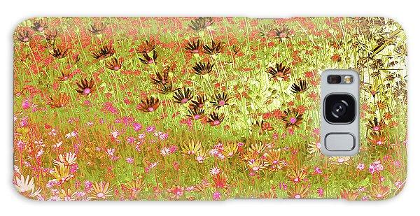 Flower Praise Galaxy Case by Linde Townsend