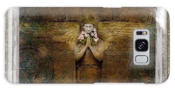 Flower Spes Angel Galaxy Case by Craig J Satterlee