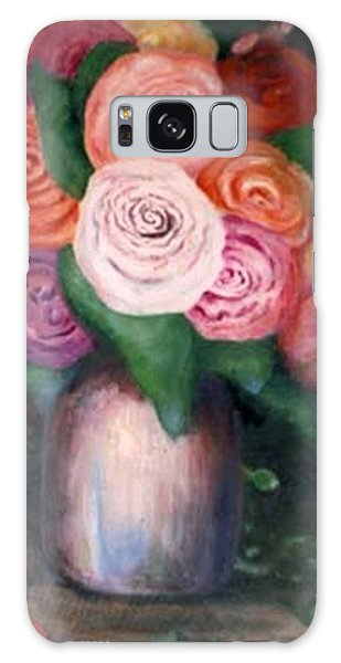 Flower Spirals Galaxy Case