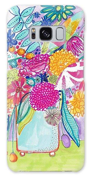 Flower Still Life Galaxy Case