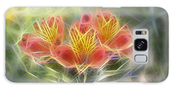 Flower Streaks Galaxy Case